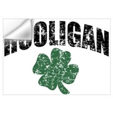 Hooligan Distressed Wall Decal