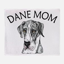 MerleB UC Dane Mom Throw Blanket
