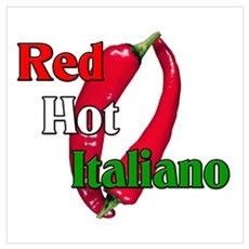 Red Hot Italiano Canvas Art