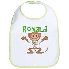Little Monkey Ronald Bib