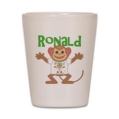 Little Monkey Ronald Shot Glass