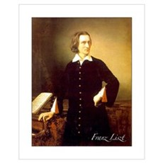 Franz Liszt Poster