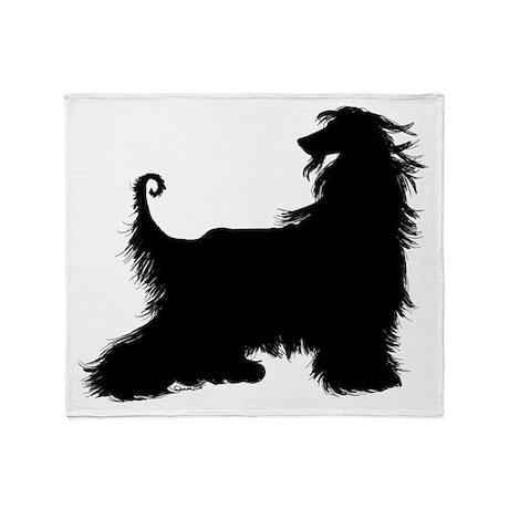 Afghan Silhouette Throw Blanket