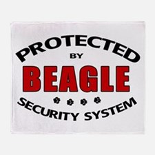 Beagle Security Throw Blanket