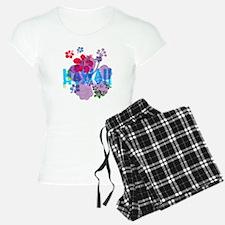 Hawaii Hibiscus Pajamas