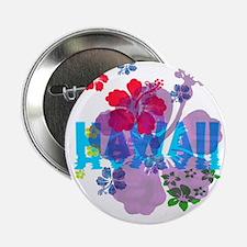 "Hawaii Hibiscus 2.25"" Button"