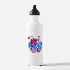 Hawaii Hibiscus Water Bottle