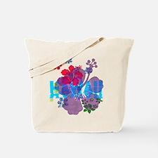 Hawaii Hibiscus Tote Bag