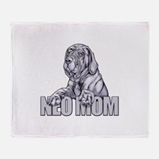 Neo Mom Blue UC Throw Blanket