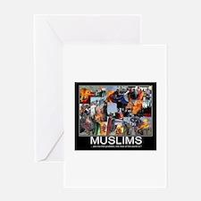 Muslims Greeting Card