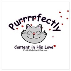 Cat lovers CONTENT Poster