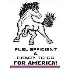 Mustang 4 America Poster