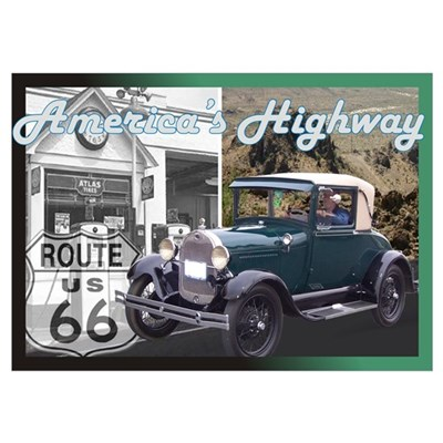 ROUTE 66 CLASSIC Poster