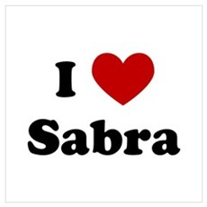 I Heart Sabra Poster
