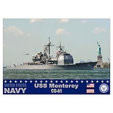 USS Monterey CG-61 Poster