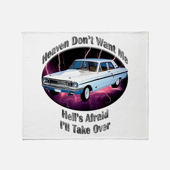 Ford Thunderbolt Throw Blanket