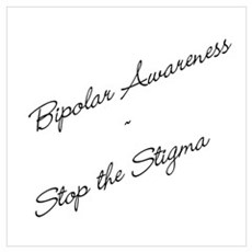 Bipolar Awareness Framed Print