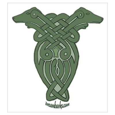 Celtic Greyhound Poster