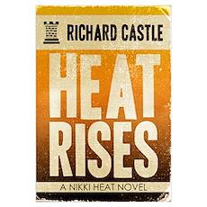 Castle Heat Rises Retro Poster