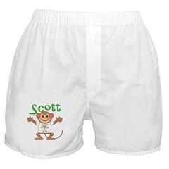 Little Monkey Scott Boxer Shorts