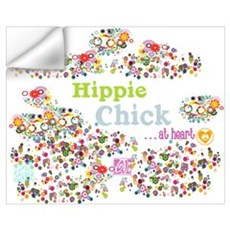 Hippie Chick at Heart Wall Decal