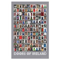 Doors of Ireland Poster