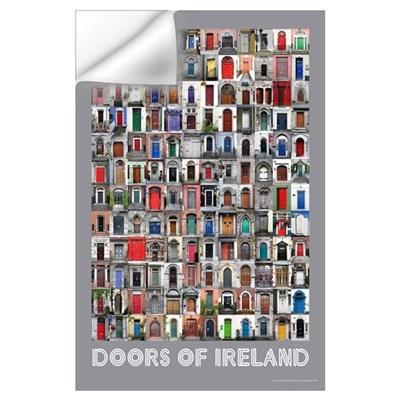 Doors of Ireland Wall Decal