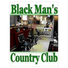 Black Man's Country Club-Gree Poster