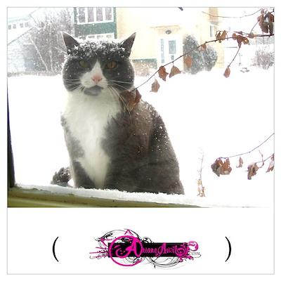 Winter Cat, Poster