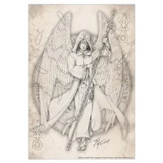Archangel Raphael Canvas Art