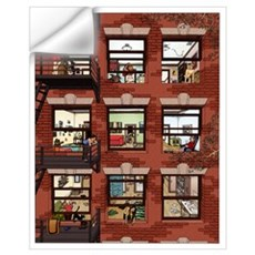 Apartments Wall Decal