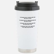 How a Degree Effects your way Travel Mug