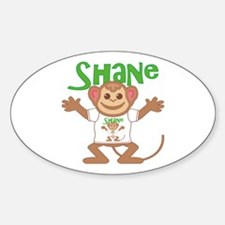 Little Monkey Shane Decal