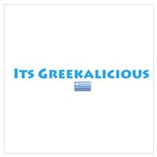 Greekalicious Poster