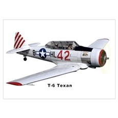 T-6 Texan Trainer Poster