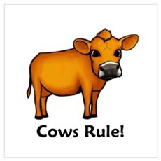 Cows Rule! Poster