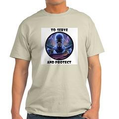 P Ash Grey T-Shirt 2