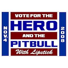 Hero & The Pitbull Poster