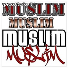 Proud to be muslim Poster
