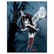 Dark Gothic Fairy Poster