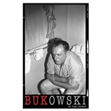 Charles bukowski Wrapped Canvas Art