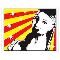 Shower Girl Poster