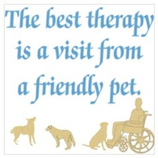 Therapy Pet Poster