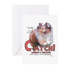 C-ATCH Libby Greeting Cards (Pk of 10)