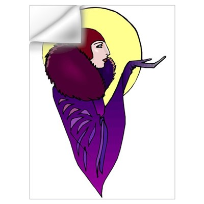 Deco Woman Wall Decal