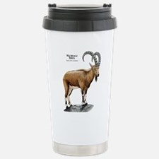 Nubian Ibex Stainless Steel Travel Mug