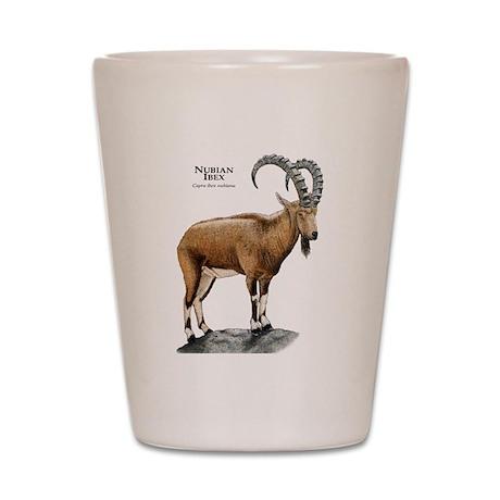Nubian Ibex Shot Glass