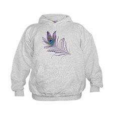 PEACOCK FEATHER Hoodie