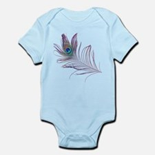 PEACOCK FEATHER Infant Bodysuit