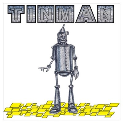 Tinman on Yellow Brick Road Poster